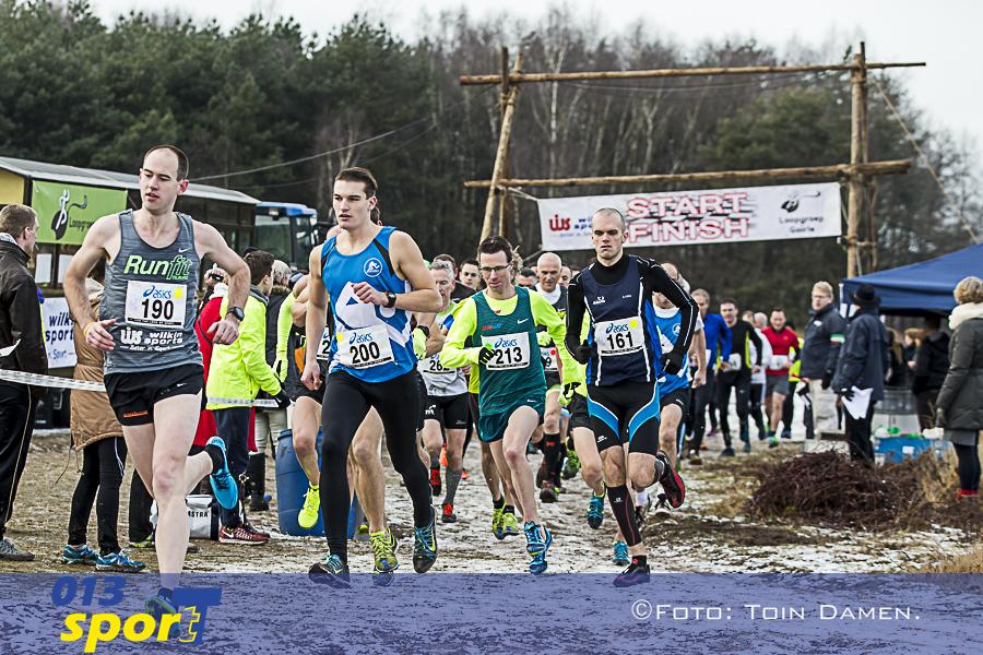 TILBURG - Wilkin Sports Cross Goirle 15-01-2017. Atletiek.