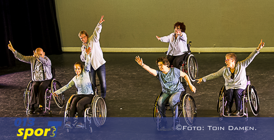 TILBURG -  Rolstoel dansen aangepaste sport 19-02-2017. Factorium.