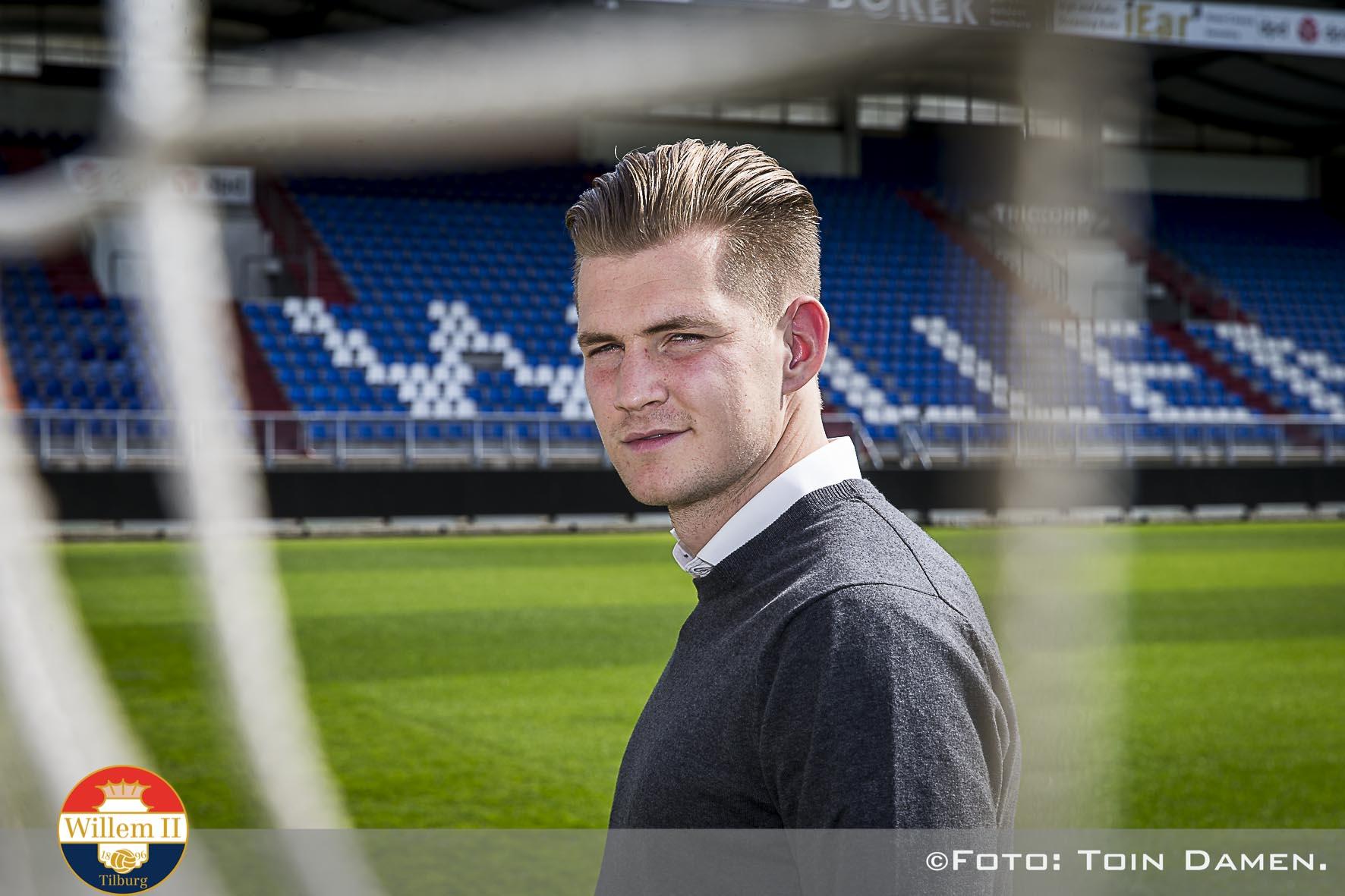 TILBURG - - , koning Willem II stadion, 31-03-2017, voetbal, eredivisie voetbal seizoen 2016-2017. Mattijs Branderhorst tekent voor twee jaar bij met optie op nog een jaar.