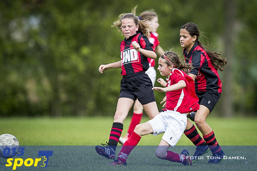TILBURG - Meidentoernooi SC 'T Zand 17-06-2017.