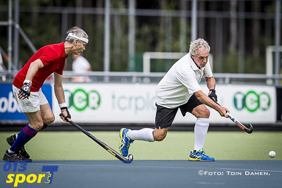 TILBURG - International Super Veterans Tournament, ISVT,23-06-2017. HC Tilburg, hockey.