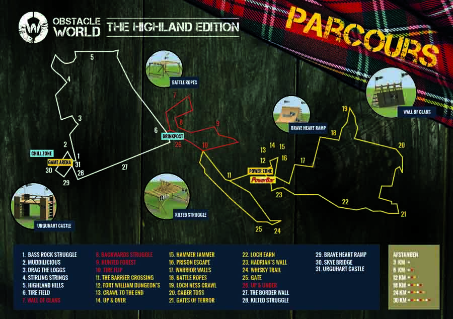 Obstacle World-parcours