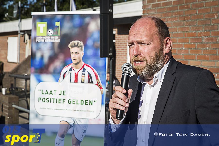 TILBURG - Positief Voetbalklimaat,PVK, SV Tilburg 17-09-2015. Wethouder Hans Kokke.