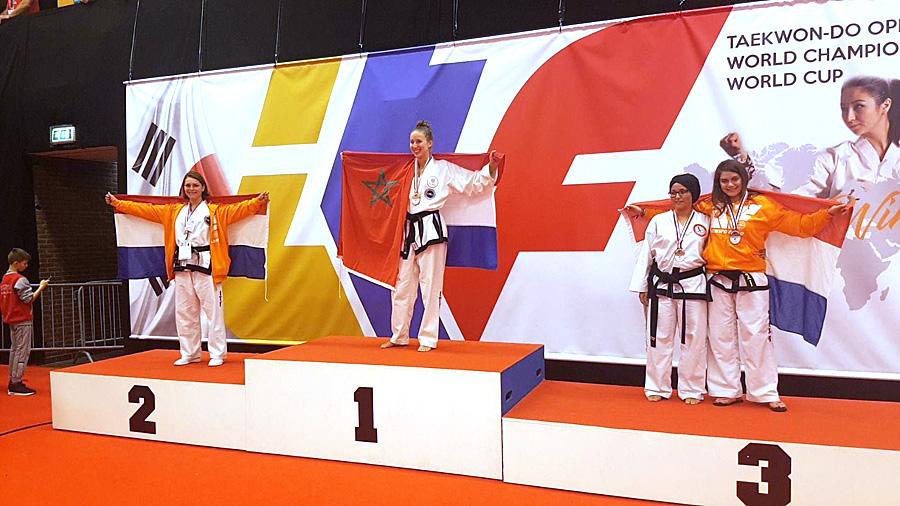 Karima behaald brons