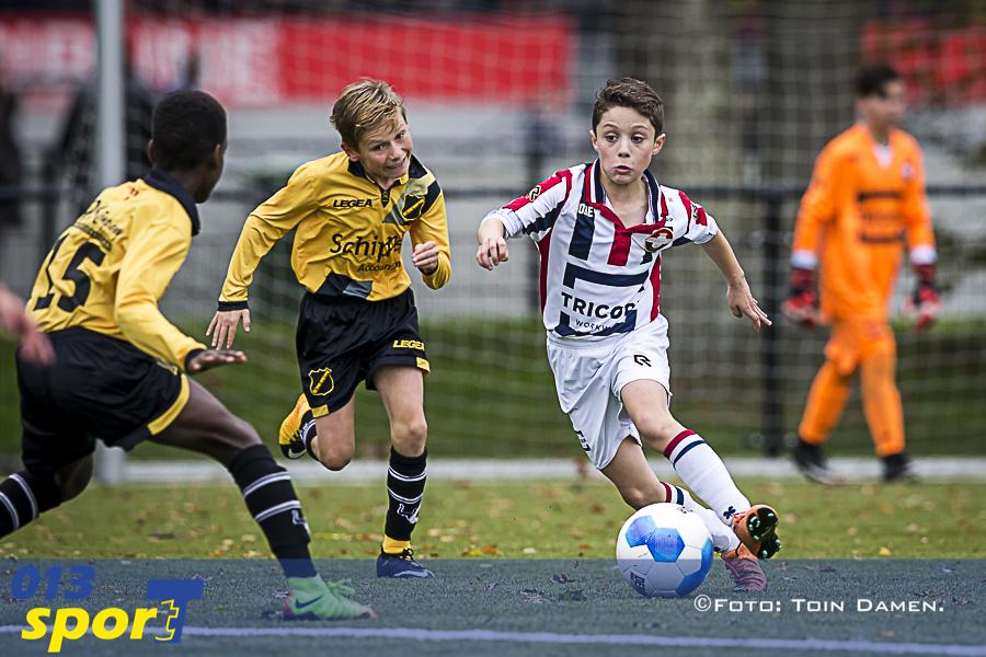 TILBURG - Willem II o12 - NAC o12 11-11-2017. Spoordijk 30, voetbal.