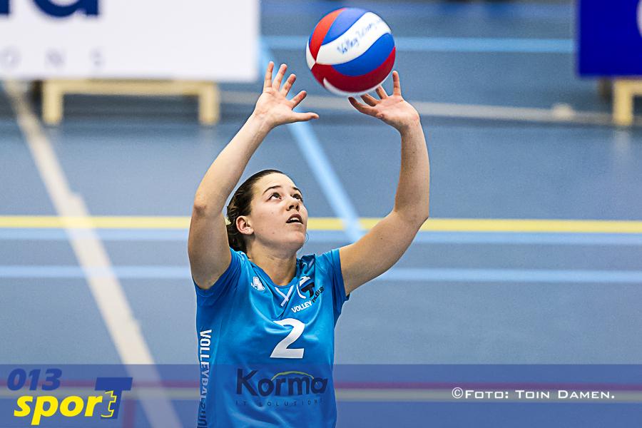 TILBURG - Volley Tilburg - Sliedrecht sport 14-10-2017. T Kwadraat. Dames 1