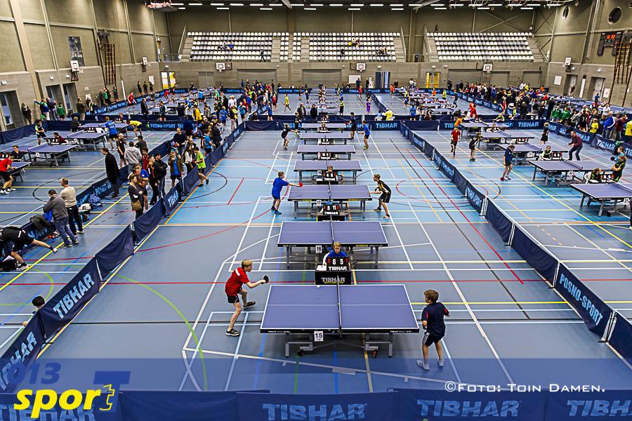 TILBURG - Tafeltennis breedtesport toernooi 19-11-2016. T Kwadraat