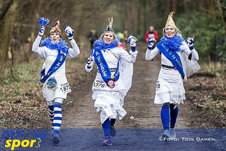 TILBURG - Kruikenloop 10-02-2018. Terrein Sarto, carnaval