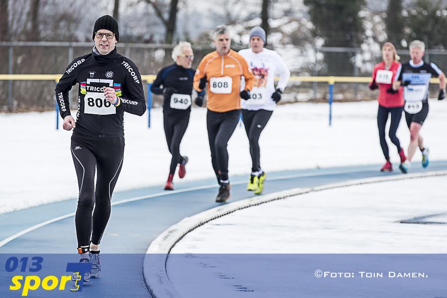 TILBURG -Schaatsloop Ireen Wust baan, IJsclub Tilburg Atilla 04-03-2018.