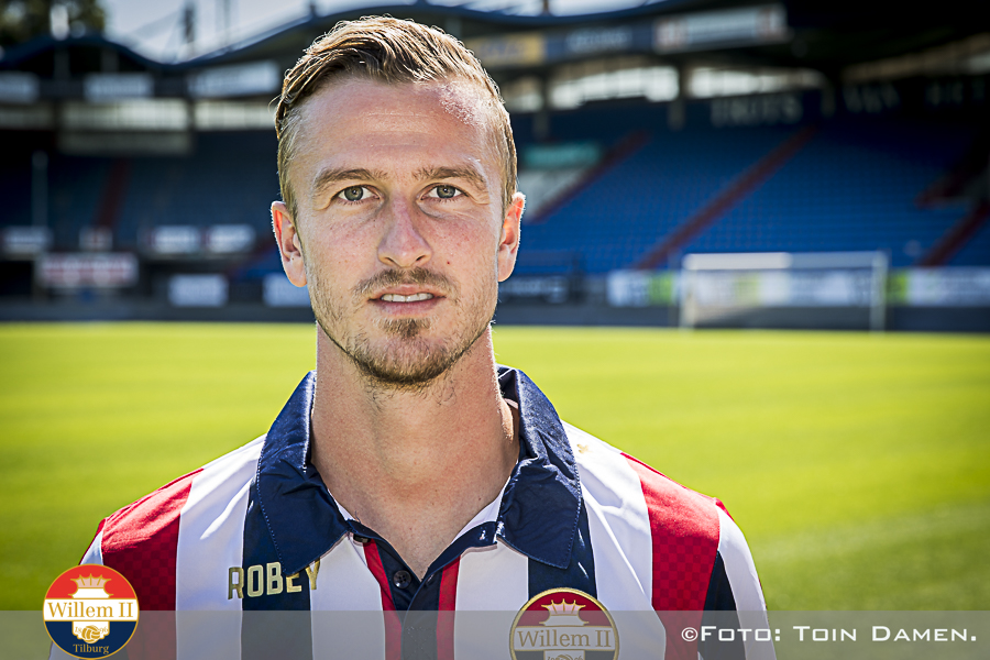 TILBURG, Presentation Thomas Meissner 29-06-2018, koning Willem II stadium, Dutch Eredivisie season 2018 / 2019. Thomas Meissner introduced as new player Willem II. He signed a contract for three years.