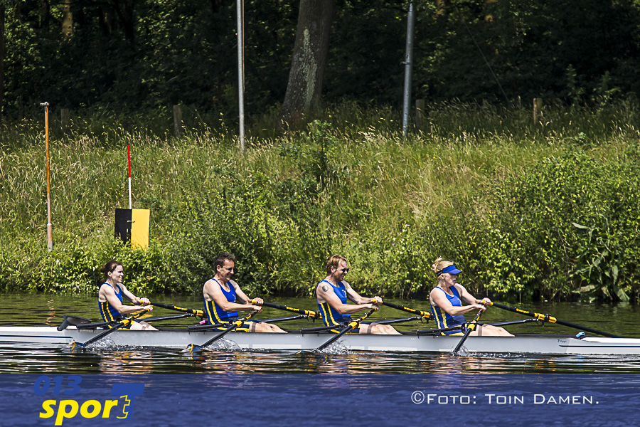 HILVARENBEEK - 09-06-2018 , TOR Dutch Masters Open, roeien. Beekse Bergen 9.