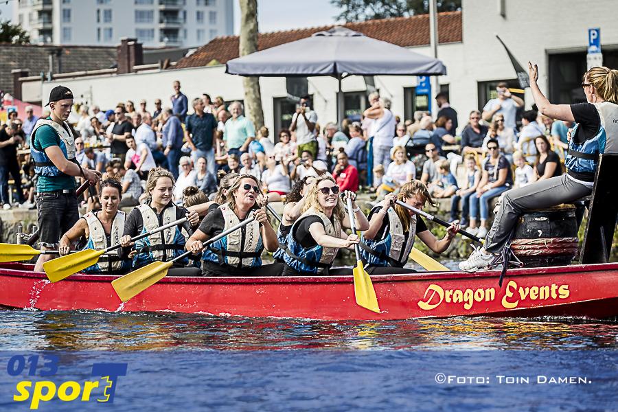 TILBURG - Drakenbootfestival 09-09-2018. Piushaven. .