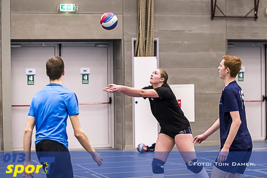 Tilburg - Brabant cup 28-12-2018. T Kwadraat. Zaalsport, Volleybal. Volley Tilburg.